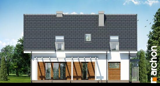 Elewacja ogrodowa projekt dom w limetkach ver 2  267