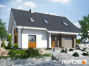 projekt Dom w limetkach lustrzane odbicie 1