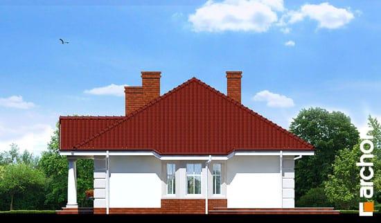 Elewacja boczna projekt dom pod jarzabem ver 2  265