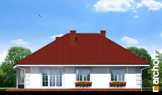 Elewacja ogrodowa projekt dom pod jarzabem ver 2  267