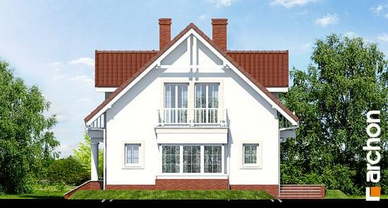Elewacja boczna projekt dom w kaliach 2 ver 2  265