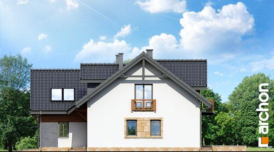 Elewacja boczna projekt dom w klematisach 5  265