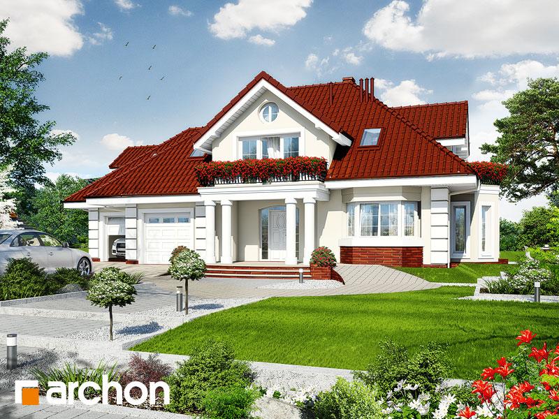 Projekt: Dom w wiciokrzewie (G2) Wizualizacja widok 1