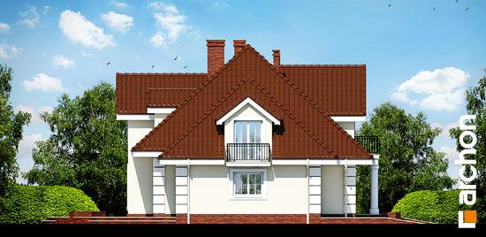 Elewacja boczna projekt dom w wiciokrzewie g2  266