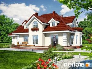 projekt Dom w wiciokrzewie (G2) lustrzane odbicie 2