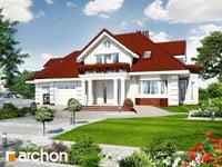 projekt Dom w wiciokrzewie (G2) widok 1