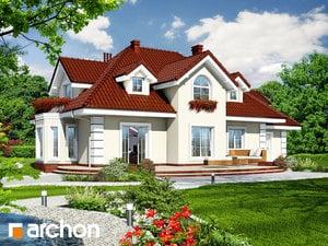 projekt Dom w wiciokrzewie (G2) widok 2