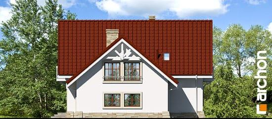 Elewacja boczna projekt dom w oregano  265