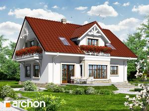 projekt Dom w oregano widok 2