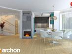 projekt Dom w awokado (G) Aranżacja kuchni 2 widok 1