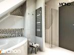 projekt Dom w awokado (G) Wizualizacja łazienki (wizualizacja 3 widok 3)