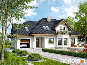 Projekt dom w awokado g  252lo