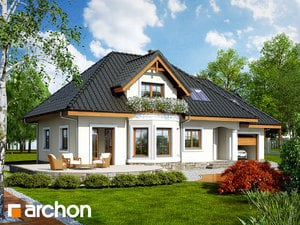 Projekt dom w awokado g  260