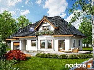 Projekt dom w awokado g  260lo