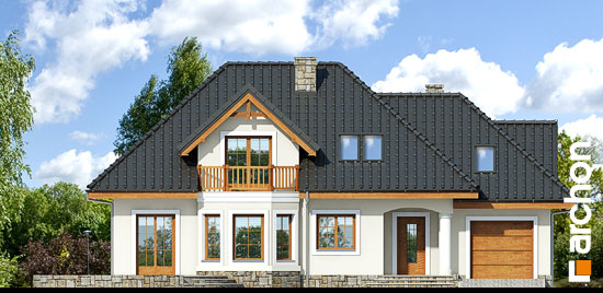 Projekt dom w awokado g  264