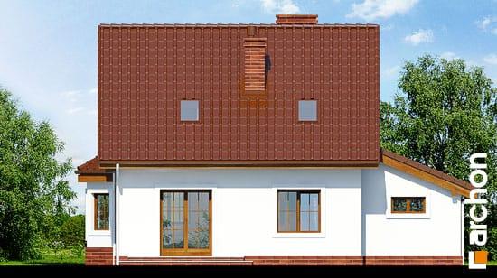 Elewacja ogrodowa projekt dom w poziomkach 3 g  267