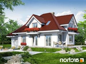 Projekt dom w werbenach 3  260lo