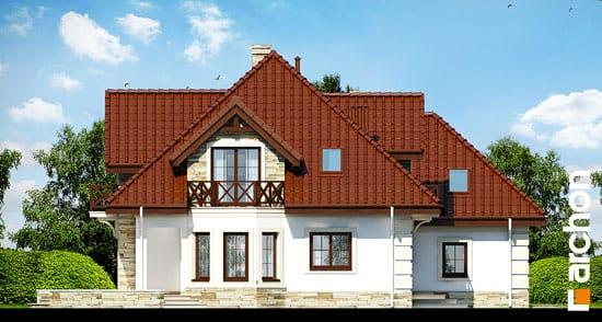 Elewacja boczna projekt dom w nagietkach 3  266