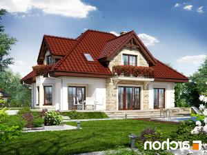 Projekt dom w nagietkach 3  260lo