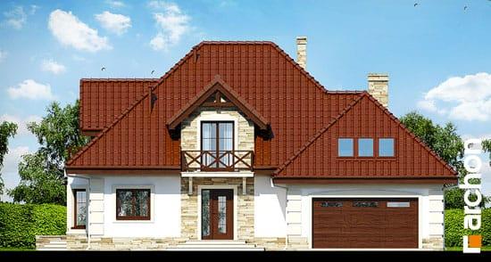 Projekt dom w nagietkach 3  264