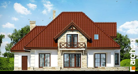 Projekt dom w nagietkach 3  267