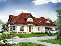 projekt Dom w nagietkach 3 widok 1