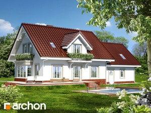 Projekt dom w werbenach 2 g2  260