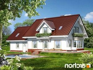 Projekt dom w werbenach 2 g2  260lo