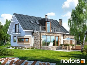 Projekt dom pod ambrowcem  260lo