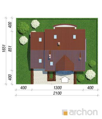 projekt Dom w lantanach 2 sytuacja