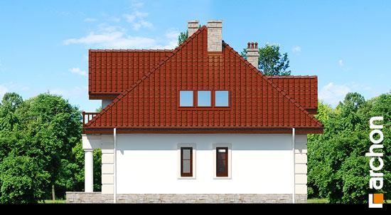 Elewacja boczna projekt dom w jezowkach 3  265