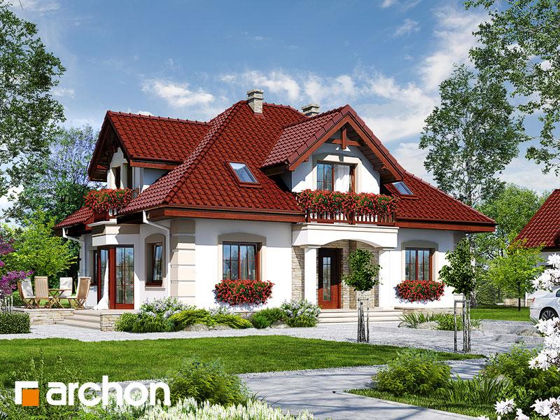 projekt Dom w jeżówkach 3 widok 1