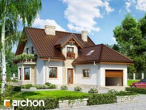 Dom w rododendronach 12 (P)