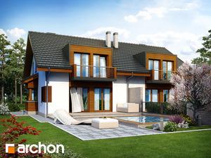 Projekt dom w klematisach 8  260