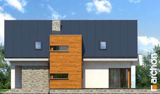 Elewacja boczna projekt dom w tabasko  266