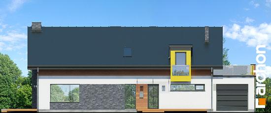 Elewacja frontowa projekt dom w laurach  264