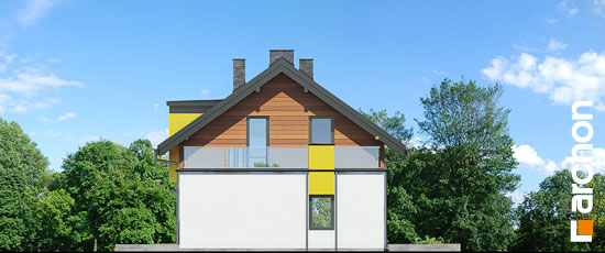 Projekt dom w laurach  265