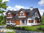 projekt Dom w klematisach 9 (B) Wizualizacja wszystkich segmentów