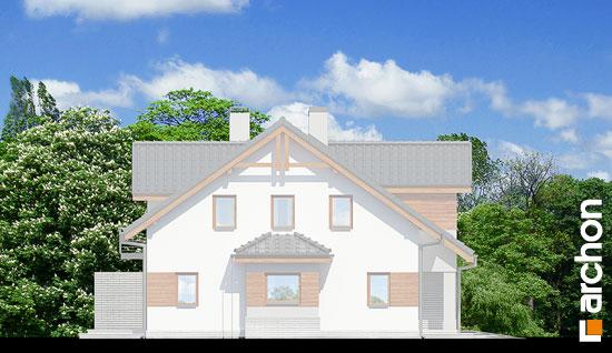 Elewacja boczna projekt dom w klematisach 9 b ver 2  266