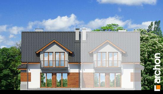 Elewacja ogrodowa projekt dom w klematisach 9 b ver 2  267