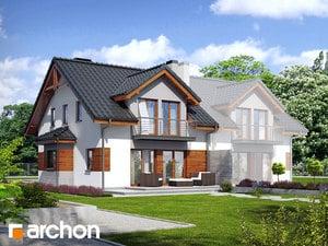 projekt Dom w klematisach 9 (B) widok 2