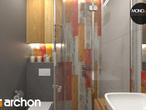 projekt Dom w mango 2 Wizualizacja łazienki (wizualizacja 3 widok 1)