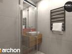 projekt Dom w mango 2 Wizualizacja łazienki (wizualizacja 3 widok 3)