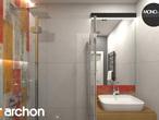 projekt Dom w mango 2 Wizualizacja łazienki (wizualizacja 3 widok 4)