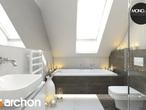 projekt Dom w mango 2 Wizualizacja łazienki (wizualizacja 4 widok 3)