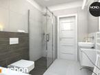 projekt Dom w mango 2 Wizualizacja łazienki (wizualizacja 4 widok 5)