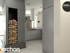 projekt Dom w mango 2 Strefa dzienna (wizualizacja 2 widok 4)
