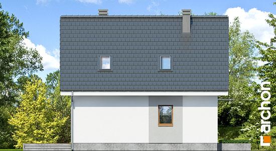 Elewacja boczna projekt dom w rododendronach 11 n  265