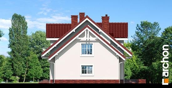 Elewacja boczna projekt dom w rododendronach 6 ver 3  265