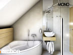 projekt Dom w rododendronach 6 Wizualizacja łazienki (wizualizacja 3 widok 3)